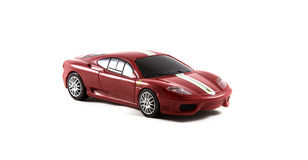 Desafío Stradale de Toy Ferrari 360 Imágenes de archivo libres de regalías