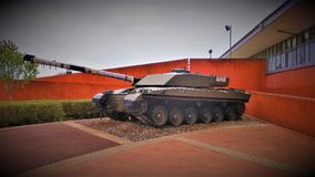 Desafiador del tanque de Bovington fotografía de archivo libre de regalías