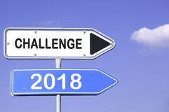 Desafio 2018 Imagens de Stock