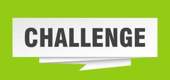 desafio ilustração stock