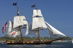 Desafio alto 2010 dos navios - prisão militar Niagara dos E.U. Fotos de Stock Royalty Free