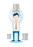 Desafio da cubeta de gelo do ALS Fotografia de Stock
