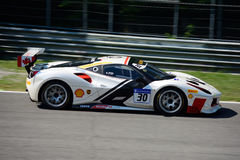 Desafio de Joshua Cartu Ferrari 488 Imagem de Stock Royalty Free