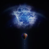 Desafio do balão Imagens de Stock