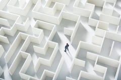 Desafio do negócio Imagens de Stock