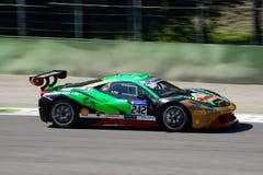 Desafio EVO de Galip Atar Ferrari 458 Imagens de Stock