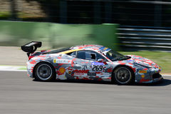 Desafio EVO de Yoshiki Ohmura Ferrari 458 Imagem de Stock Royalty Free