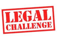 DESAFIO LEGAL ilustração royalty free