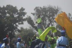 DESAFIO NOVO MILITAR DA SEGURANÇA DAS FORÇAS ARMADAS DO EXÉRCITO DE INDONÉSIA Foto de Stock Royalty Free