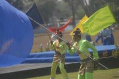 DESAFIO NOVO MILITAR DA SEGURANÇA DAS FORÇAS ARMADAS DO EXÉRCITO DE INDONÉSIA Fotos de Stock Royalty Free