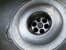 Desaguadero del fregadero Imagen de archivo libre de regalías