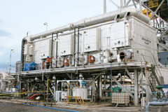 Desalination plant Royalty Free Stock Photography