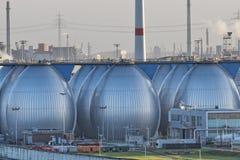 Desalination plant in hamburg port Royalty Free Stock Images