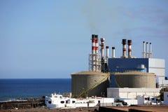 desalinationväxt Arkivfoton