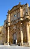 Desamparados de la iglesia Foto de archivo