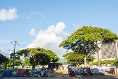 Desamparados en Hawaii Fotos de archivo libres de regalías