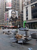 Desamparados en NY Fotos de archivo