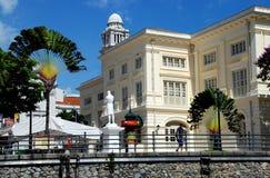 desantowi raffles Singapore obrazy stock