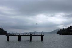 Desantowy samolot Fotografia Royalty Free