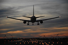 Desantowy samolot Zdjęcie Stock