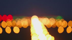 Desantowych świateł pasa startowego lotnisko zdjęcie wideo