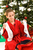 Desapontamento do Natal imagem de stock royalty free