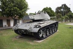 Desarme el tanque de lugar tailandés del ejército al aire libre en el monumento nacional para conmemorar la siguiente generación imagen de archivo libre de regalías