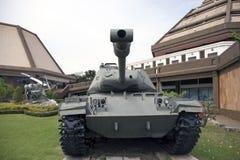 Desarme el tanque de lugar tailandés del ejército al aire libre en el monumento nacional para conmemorar la siguiente generación foto de archivo