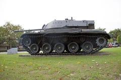 Desarme o tanque do lugar tailandês do exército exterior no memorial nacional para comemorar a próxima geração fotografia de stock royalty free