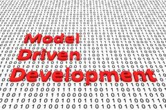 Desarrollo conducido modelo libre illustration