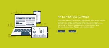 Desarrollo de aplicaciones Foto de archivo