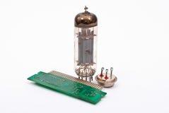 Desarrollo de la microelectrónica Imagenes de archivo