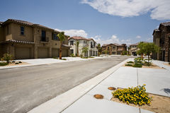 Desarrollo de la propiedad horizontal de California, Indio Foto de archivo