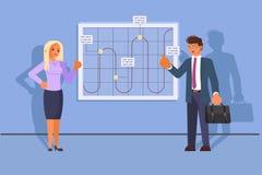 Desarrollo de negocios del concepto del trabajo en equipo imagen de archivo
