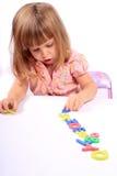Desarrollo de niñez temprana Imagen de archivo libre de regalías