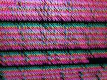 Desarrollo de programas del código binario Foto de archivo libre de regalías