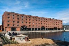 Desarrollo del muelle de Liverpool Imagen de archivo libre de regalías