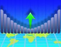 Desarrollo económico stock de ilustración