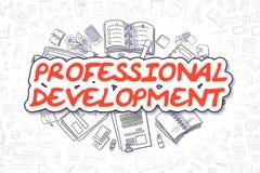 Desarrollo profesional - concepto del negocio Imagen de archivo libre de regalías
