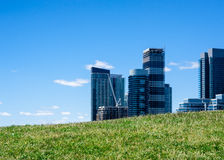 Desarrollo residencial moderno en Toronto, Ontario, Canadá de la propiedad horizontal Imagen de archivo