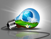 Desarrollo sostenible ilustración del vector