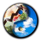 Desarrollo sostenible stock de ilustración