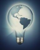 Desarrollo sostenible y poder renovable Imágenes de archivo libres de regalías