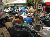 Desastre ambiental en Beirut, Líbano fotografía de archivo