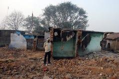 Desastre de Jharia Imagem de Stock
