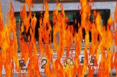 Desastre del centro de datos imagen de archivo