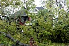 Desastre del huracán Imagen de archivo libre de regalías