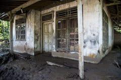 Desastre em Banten imagem de stock