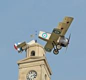 Desastre en el airshow Fotografía de archivo libre de regalías