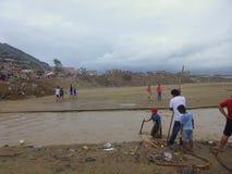 Desastre naturale Fotografie Stock Libere da Diritti